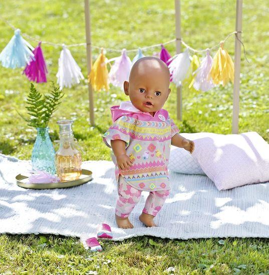 BABY born komplet s pončom Deluxe, 43 cm