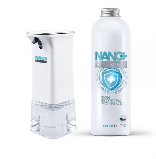 Nanolab Bezdotykový dávkovač NANO+ včetně dezinfekce 1000ml