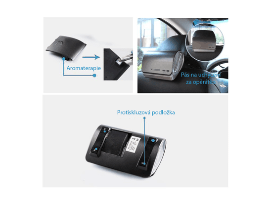UVtech UV-C čistička vzduchu s HEPA filtrom CAR I BACK