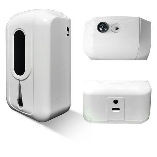 UVtech Bezdotykový automatický dávkovač dezinfekcie SOAP II s objemom 2200ml