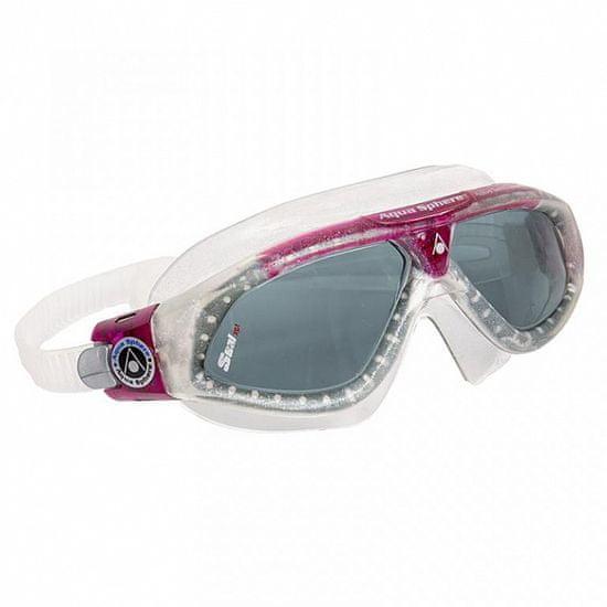 Aqua Sphere Plavecké brýle SEAL XP ladies - kouřová skla červená