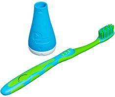 Playbrush Smart natavek za klasično zobno ščetko, moder