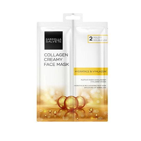 Gabriella Salvete Pleťová maska Collagen (Creamy Face Mask) 2 x 8 ml