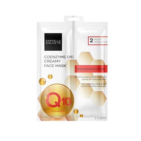 Gabriella Salvete Pleťová maska Coenzyme Q10 (Creamy Face Mask) 2 x 8 ml