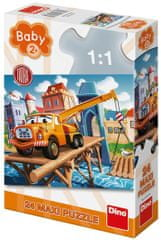DINO Tátra maxi puzzle, 24 darabos