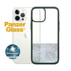 PanzerGlass ClearCase Antibacterial zaščitni ovitek za Apple iPhone 12 Pro Max, zelen – Racing Green (0269)