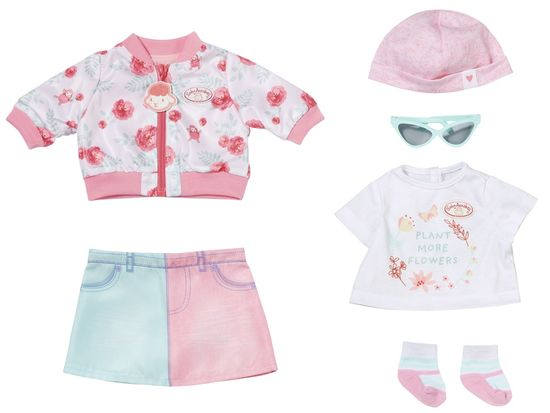 Baby Annabell Deluxe proljetna odjeća, 43 cm