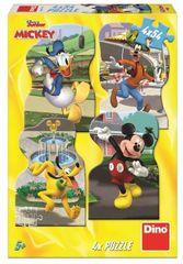 Dino Mickey v mestu sestavljanka, 4x 54 delov