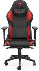 SilentiumPC SR600F RD, černá/červená (SPG087)