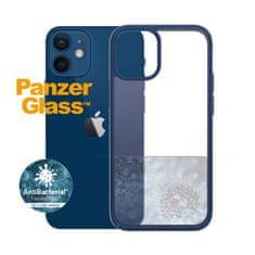 PanzerGlass ClearCase Antibacterial zaštitna maska za Apple iPhone 12 mini, plava – True Blue (0276)
