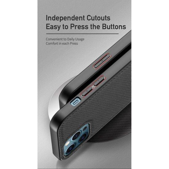 Dux Ducis Fino ovitek za iPhone 12 Pro Max, zelena