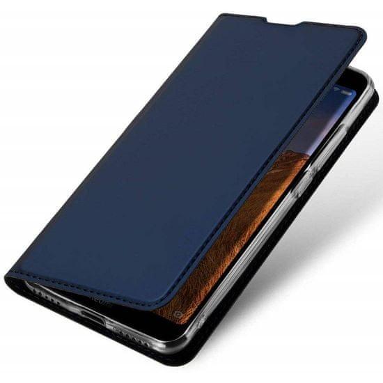 Dux Ducis Skin Pro bőr könyvtok Huawei P Smart 2020, kék