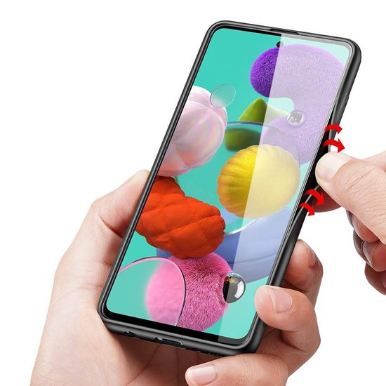 Dux Ducis Fino tok Samsung Galaxy A51, zöld