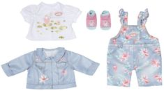 Baby Annabell Deluxe odjeća od trapera, 43 cm