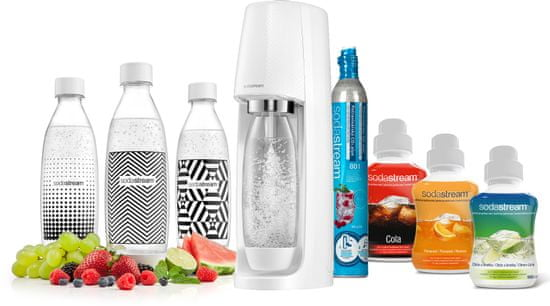 SodaStream SPIRIT WHITE PARTY PACK