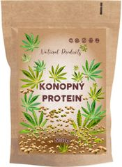 Natural Products Konopný protein – 500g