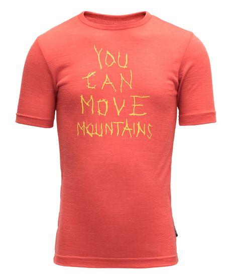Devold Gyermek funkcionális póló Moving Mountain Kid Tee