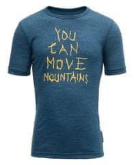 Devold chlapecké funkční tričko Moving Mountain Kid Tee 104 tmavě modrá