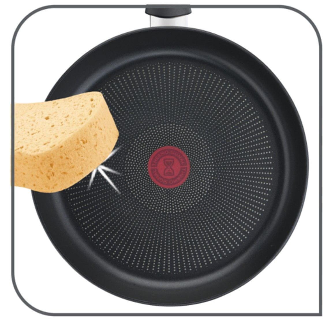 Uniwersalna patelnia Tefal Easy Chef patelnia 24 cm G2700472