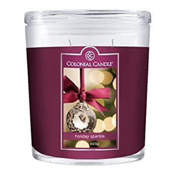 Colonial Candle Holiday Sparkle mirisna svijeća, 623 g