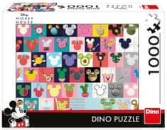 Dino Mickey uši puzzle 1000 dílků