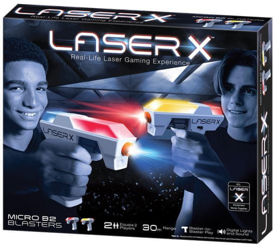 TM Toys LASER X mikro blaster sportski komplet za 2 igrača