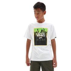 Vans chlapčenské tričko By Print Box Boys VN0A318NZ601 S biela