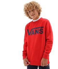 Vans chlapčenská mikina By Vans Classic Crew VN0A36MZZ5F1 S červená