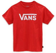 Vans dětské tričko By Vans Classic Kids VN0A3W764PV1 4 červená