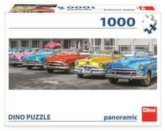 DINO Zraz búračiek panoramic 1000 dielikov
