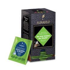 Floragold Zelený čaj Osm pokladů Shaolinu (jahoda-ananas) 15 ks