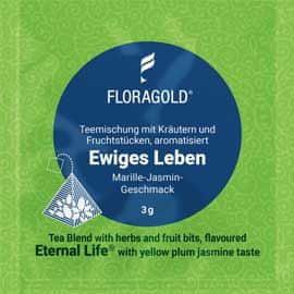 Floragold Zelený čaj Věčný život (meruňka-jasmín) 15 ks
