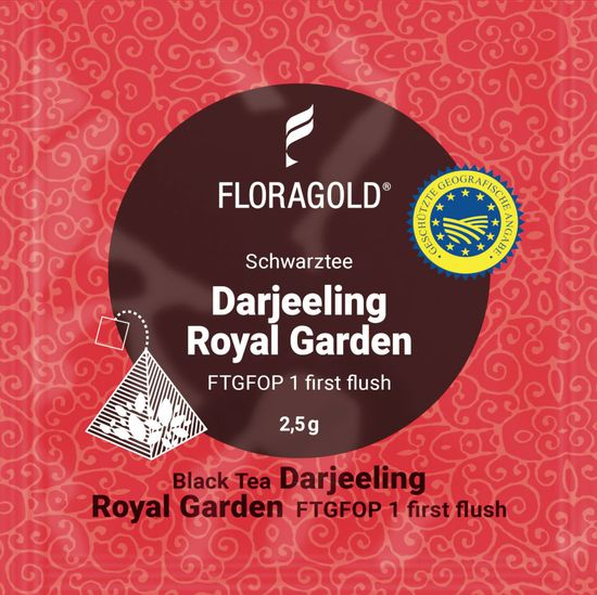 Floragold Černý čaj Darjeeling Royal Garden 15 ks