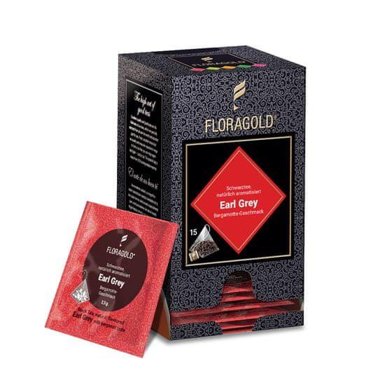 Floragold Černý čaj Earl Grey natural 15 ks