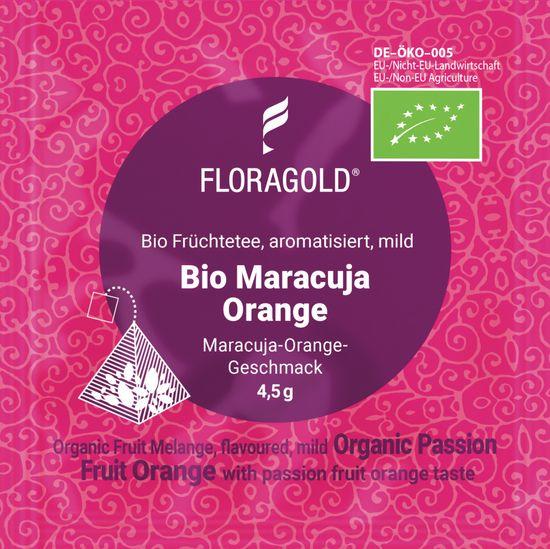 Floragold Ovocný čaj BIO Maracuja Orange mild (mučenka-pomeranč) 15 ks