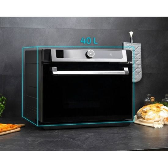 Cecotec Bake&Steam 4000 Combi mini pečica, parna