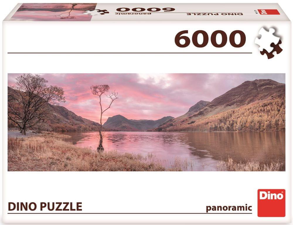 Dino Jezero v horách puzzle 6000 dílků
