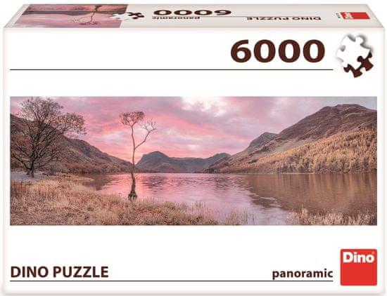 Dino sestavljanka Jezero v gorah, 6000 kosov