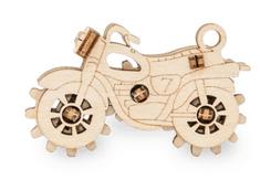 EWA ECO-WOOD-ART Mini mechanický Motocykl