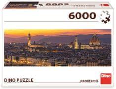 Dino Zlatá Florencie puzzle 6000 dílků