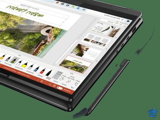 Lenovo Yoga 9 14 FHD i7-1185G7 16/512 W10 prenosnik, črn (82BG005MSC)