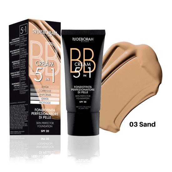 Deborah BB krema 5u1, 30 ml, 03 Sand