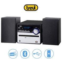 Trevi HCX 10D6 glasbeni Hi-Fi sistem, DAB/DAB+, Bluetooth