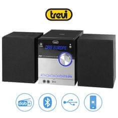 Trevi HCX 10D8 glasbeni Hi-Fi sistem, DAB/DAB+, Bluetooth