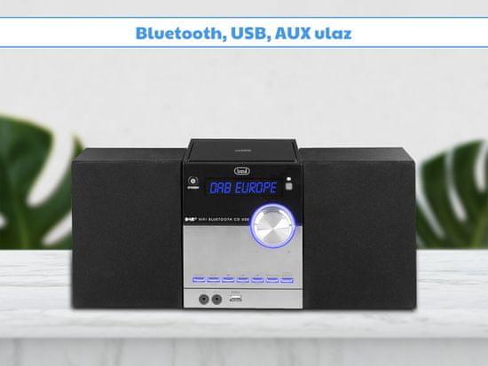 Trevi HCX 10D8 glazbeni Hi-Fi sustav, DAB / DAB +, Bluetooth