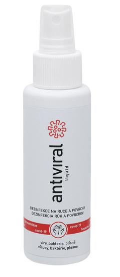 ANTIVIRAL Tekutá dezinfekcia s vôňou Antiviral liquid 100 ml s aplikátorom