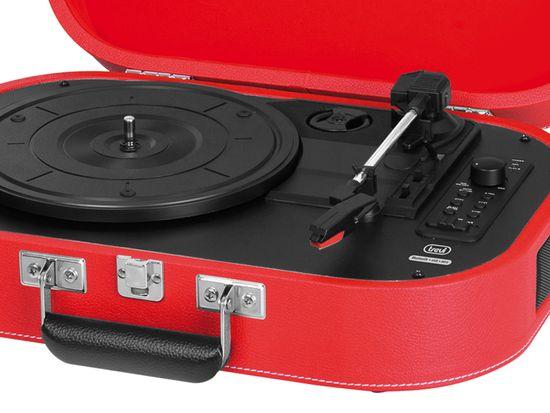 Trevi TT 1020 Sally prenosni gramofon, Bluetooth