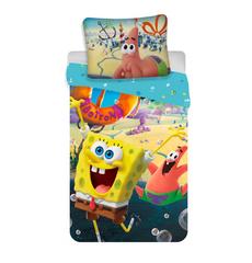 Jerry Fabrics posteljnina Sponge Bob Movie