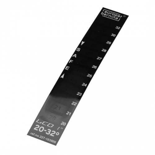 EBI LCD hőmérő 20-32°C