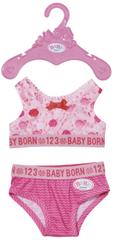 BABY born spodnje perilo, roza, 43 cm